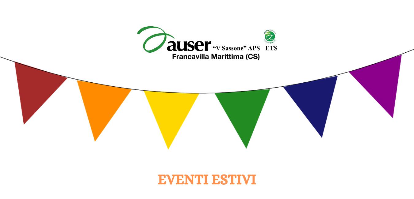 Estate 2021: gli eventi del circolo di Francavilla Marittima